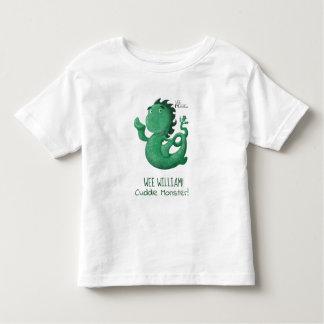 T-shirt Pour Les Tous Petits Le Nessie petit de Loch Ness a personnalisé