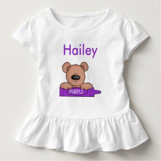 T-shirt Pour Les Tous Petits Le nounours personnalisé de Hailey
