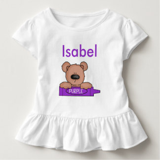 T-shirt Pour Les Tous Petits Le nounours personnalisé d'Isabel