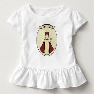 T-shirt Pour Les Tous Petits Le nourrisson des filles de Prague a hérissé la