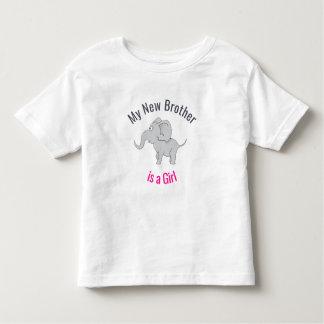 T-shirt Pour Les Tous Petits Le nouveau frère mignon de l'éléphant | est une