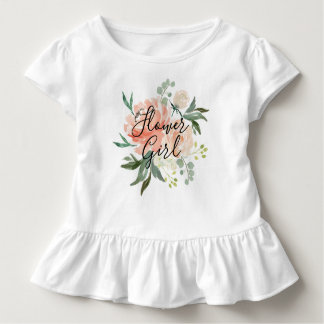 T-shirt Pour Les Tous Petits Le ressort rougissent demoiselle de honneur de