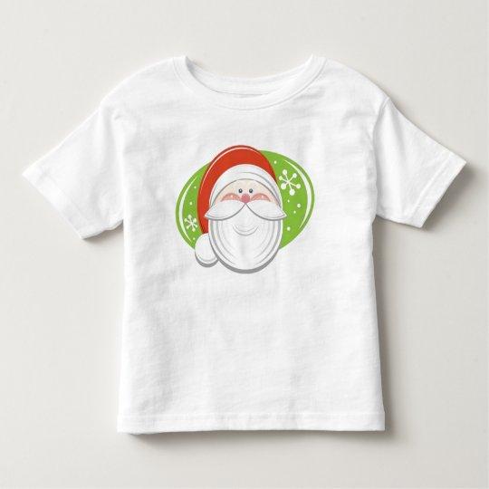 T-shirt Pour Les Tous Petits Le visage du P�re No�l -