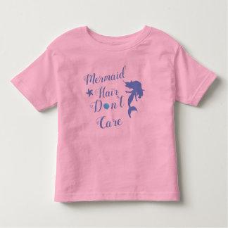 T-shirt Pour Les Tous Petits Les cheveux de sirène ne s'inquiètent pas le