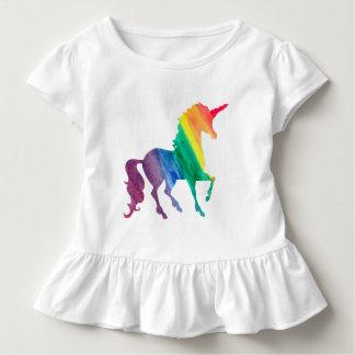 T-shirt Pour Les Tous Petits Les filles refroidissent des enfants d'aquarelle