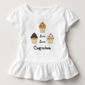 T-shirt Pour Les Tous Petits Les petits gâteaux vivent amour