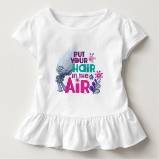T-shirt Pour Les Tous Petits Les trolls | ont mis vos cheveux dans le ciel