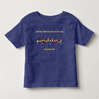 T-shirt Pour Les Tous Petits Les vies d'amour dans moi pour des enfants