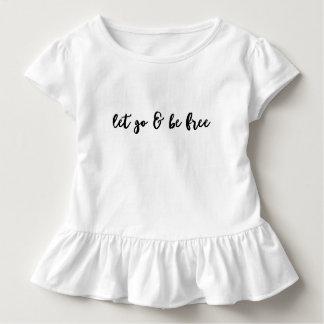 T-shirt Pour Les Tous Petits Let disparaissent et soient libre - pièce en t de