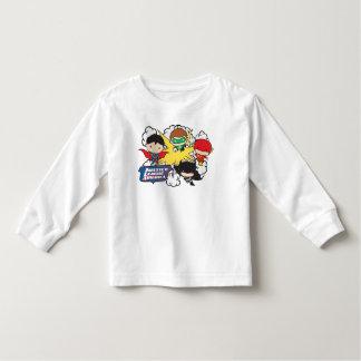 T-shirt Pour Les Tous Petits Ligue de justice de Chibi d'explosion de