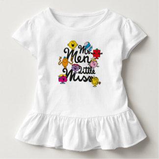 T-shirt Pour Les Tous Petits Logo de groupe de M. Men Little Mlle |