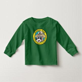 T-shirt Pour Les Tous Petits Logo de Rick de garde forestière de Rick | de