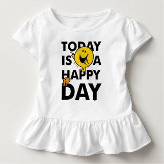 T-shirt Pour Les Tous Petits M. Happy   est aujourd'hui un jour heureux