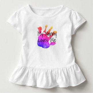 T-shirt Pour Les Tous Petits ma bonne d'enfants aime me2