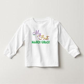 T-shirt Pour Les Tous Petits Ma première chemise de mardi gras