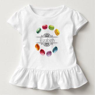 T-shirt Pour Les Tous Petits Macarons dans une pâtisserie française du cercle |
