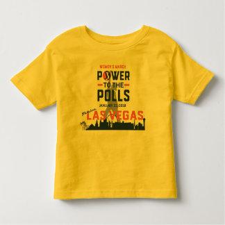 T-shirt Pour Les Tous Petits Mars Las Vegas - pièce en t des femmes d'enfant en