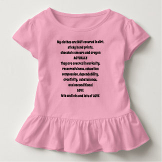 T-shirt Pour Les Tous Petits Mes vêtements ne sont pas - je suis un enfant -