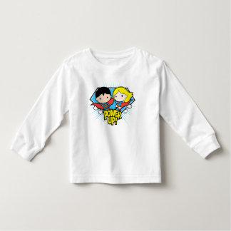T-shirt Pour Les Tous Petits Mise sous tension de Chibi Superman et de Chibi