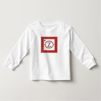 T-shirt Pour Les Tous Petits Monogramme Z de chienchien