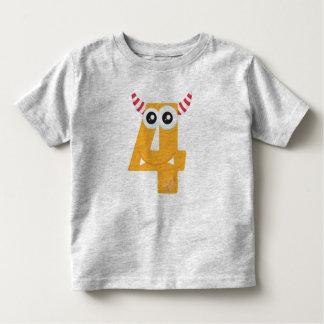 T-shirt Pour Les Tous Petits Monstre 4