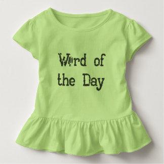 T-shirt Pour Les Tous Petits Mot des vêtements de bébé de jour