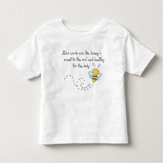 T-shirt Pour Les Tous Petits Mots aimables