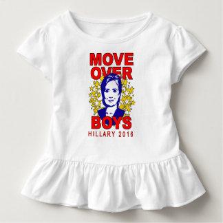 T-shirt Pour Les Tous Petits Mouvement de Hillary Clinton au-dessus de pièce en