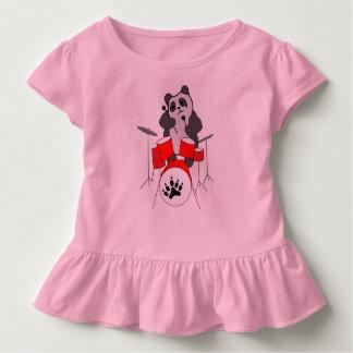 T-shirt Pour Les Tous Petits musicien de panda