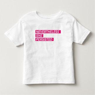 T-shirt Pour Les Tous Petits Néanmoins, elle a persisté