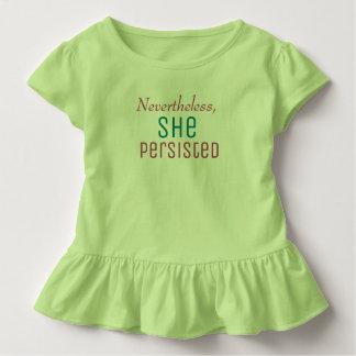 T-shirt Pour Les Tous Petits Néanmoins elle a persisté