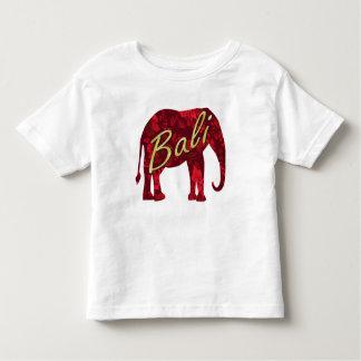 T-shirt Pour Les Tous Petits Noël en batik de Bali 1 éléphant
