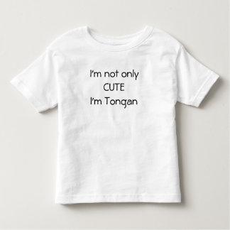 T-shirt Pour Les Tous Petits Non seulement chemise tongane mignonne