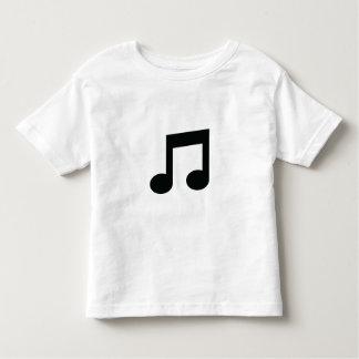 T-shirt Pour Les Tous Petits Note de musique