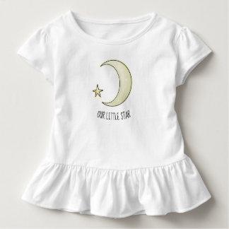 T-shirt Pour Les Tous Petits Notre petite lune d'étoile