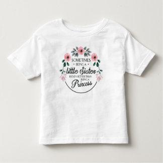 T-shirt Pour Les Tous Petits Parfois étant une aquarelle de fleur de petite