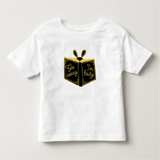 T-shirt Pour Les Tous Petits Pars, je suis PIÈCE EN T d'ENFANT EN BAS ÂGE