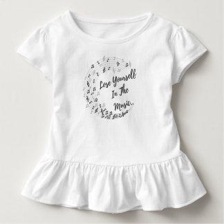 T-shirt Pour Les Tous Petits Perdez-vous dans la musique.