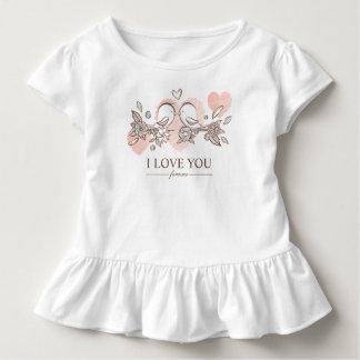 T-shirt Pour Les Tous Petits Perruches adorables dans la pièce en t de ruche de