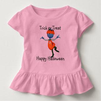 T-shirt Pour Les Tous Petits Personnalisez la pièce en t de Jack-o'-lantern