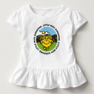 T-shirt Pour Les Tous Petits Petit cercle de soleil de Mlle Sunshine  