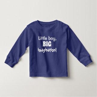 T-shirt Pour Les Tous Petits Petit garçon, GRANDE imagination !