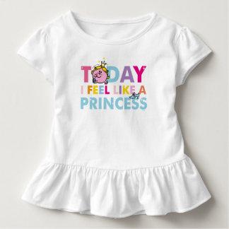 T-shirt Pour Les Tous Petits Petite Mlle le princesse | que je me sens comme