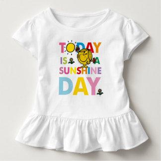 T-shirt Pour Les Tous Petits Petite Mlle Sunshine | est aujourd'hui un jour de