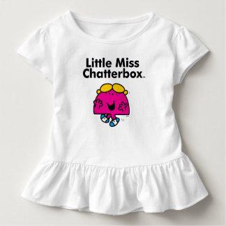 T-shirt Pour Les Tous Petits Petite petite Mlle Chatterbox de la Mlle | est si