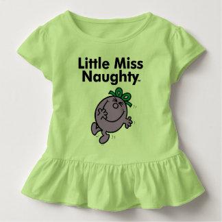 T-shirt Pour Les Tous Petits Petite petite Mlle Naughty de la Mlle | est si