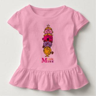 T-shirt Pour Les Tous Petits Petite petite Mlle Standing Tall de la Mlle |
