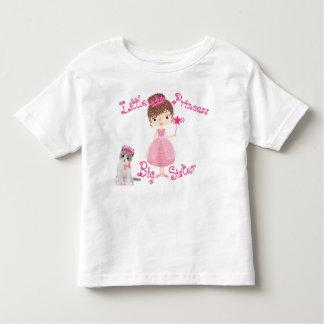 T-shirt Pour Les Tous Petits Petite princesse grande soeur