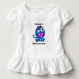 T-shirt Pour Les Tous Petits Petite version de bleu du monstre de la maman