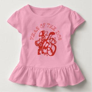 T-shirt Pour Les Tous Petits Pièce en t 2018 chinoise de bébé de nouvelle année